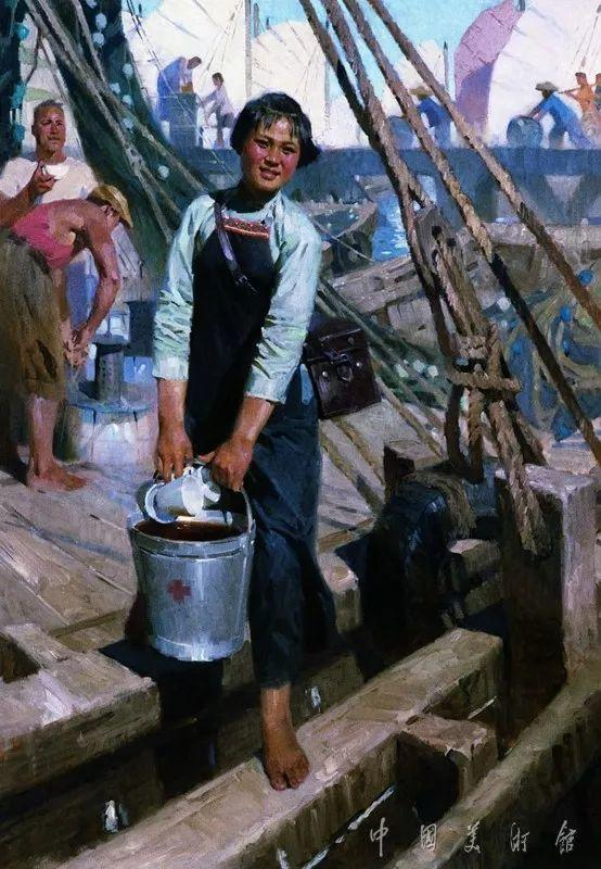 中国美术馆典藏近百幅油画欣赏插图40