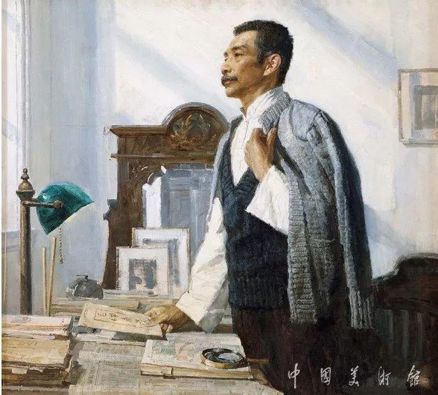 中国美术馆典藏近百幅油画欣赏插图43