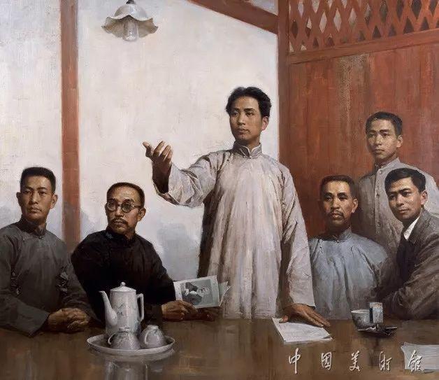 中国美术馆典藏近百幅油画欣赏插图45