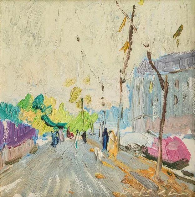 中国美术馆典藏近百幅油画欣赏插图46