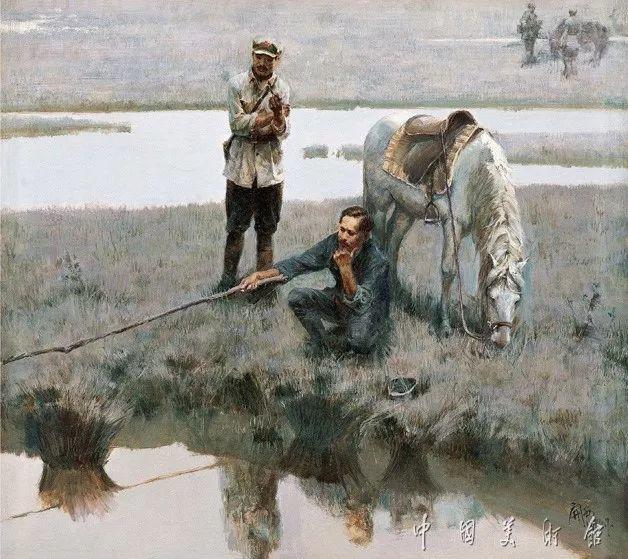 中国美术馆典藏近百幅油画欣赏插图52