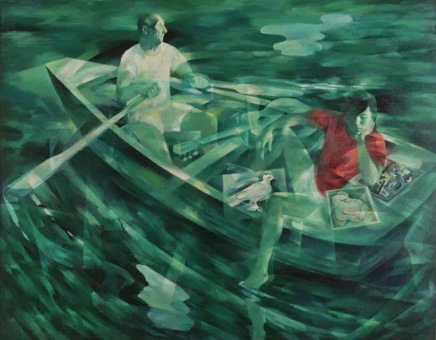 中国美术馆典藏近百幅油画欣赏插图53