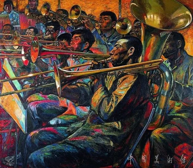 中国美术馆典藏近百幅油画欣赏插图54