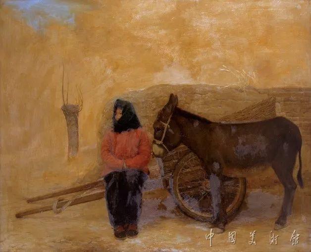 中国美术馆典藏近百幅油画欣赏插图60
