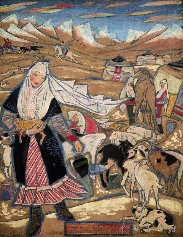 中国美术馆典藏近百幅油画欣赏插图63
