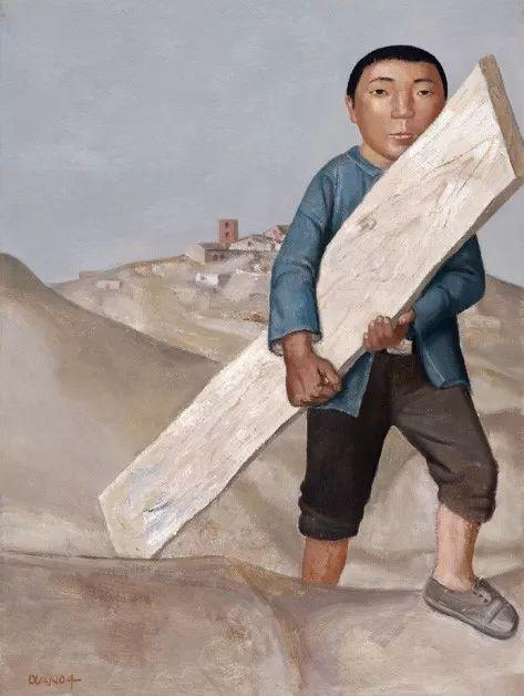 中国美术馆典藏近百幅油画欣赏插图66