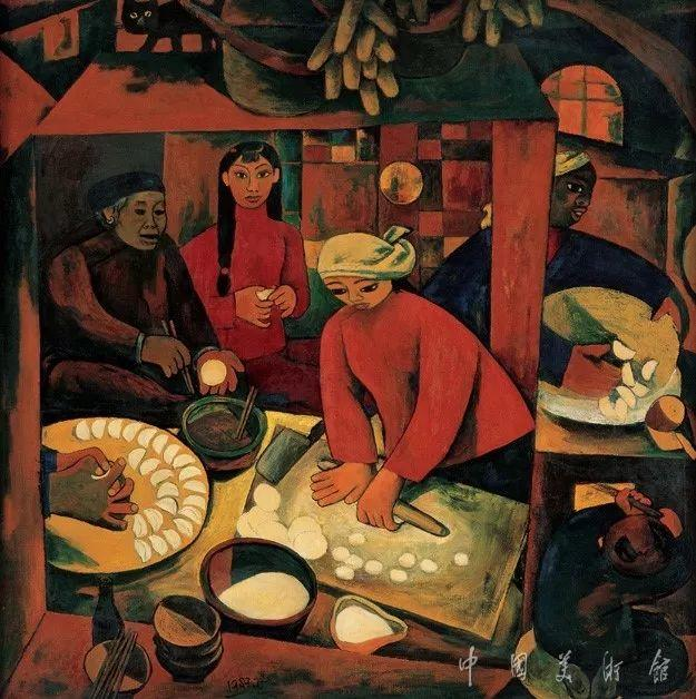 中国美术馆典藏近百幅油画欣赏插图70