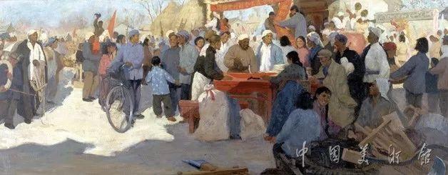 中国美术馆典藏近百幅油画欣赏插图75