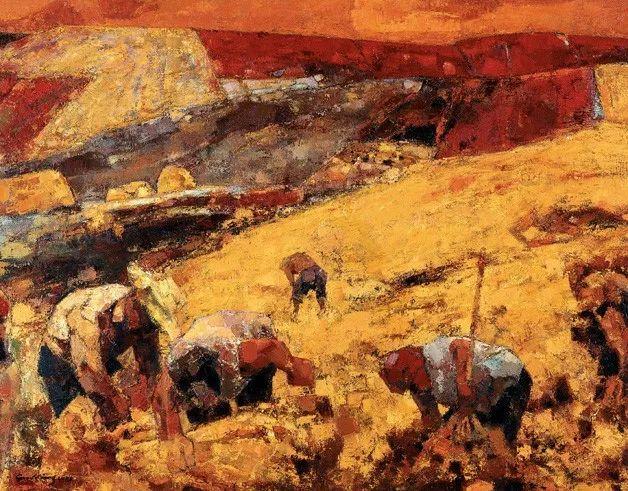 中国美术馆典藏近百幅油画欣赏插图76