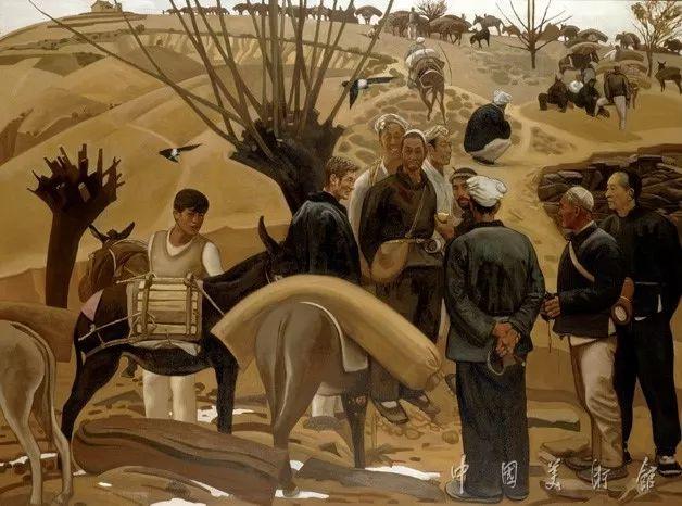 中国美术馆典藏近百幅油画欣赏插图77