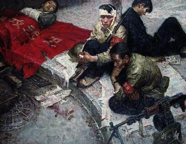 中国美术馆典藏近百幅油画欣赏插图78