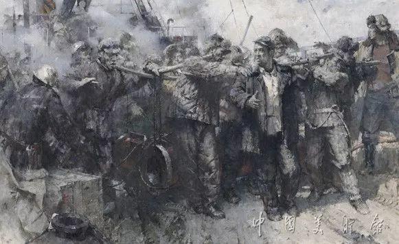 中国美术馆典藏近百幅油画欣赏插图82