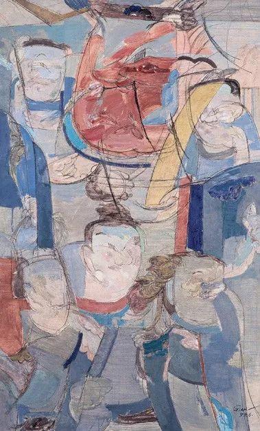 中国美术馆典藏近百幅油画欣赏插图83