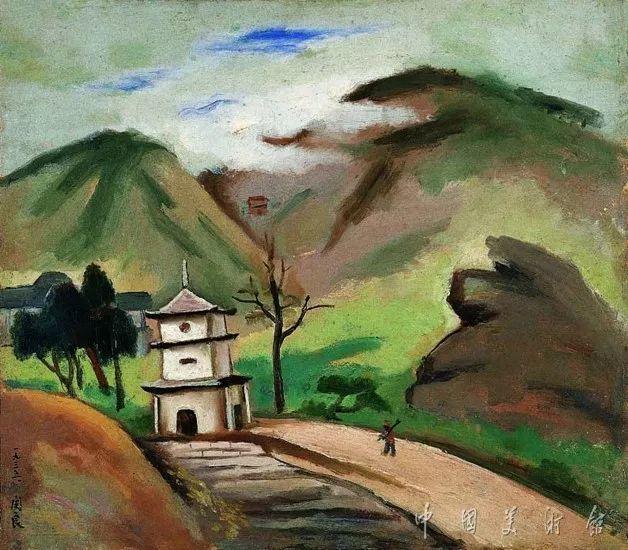 中国美术馆典藏近百幅油画欣赏插图85