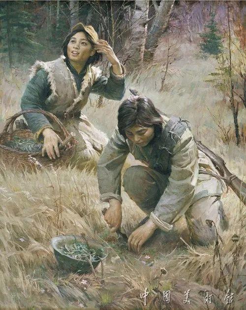 中国美术馆典藏近百幅油画欣赏插图86