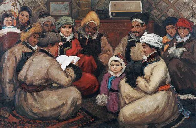 中国美术馆典藏近百幅油画欣赏插图88