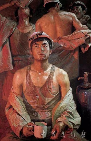 中国美术馆典藏近百幅油画欣赏插图89