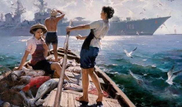 中国美术馆典藏近百幅油画欣赏插图93