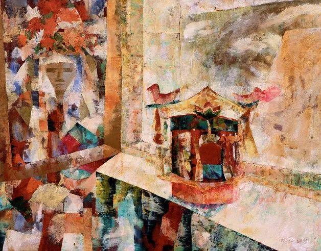 中国美术馆典藏近百幅油画欣赏插图99