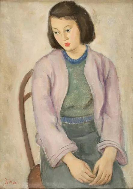 中国美术馆典藏近百幅油画欣赏插图100