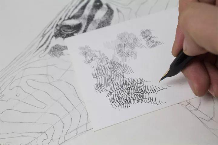 90后男孩的极品钢笔画,细腻的让人窒息插图132