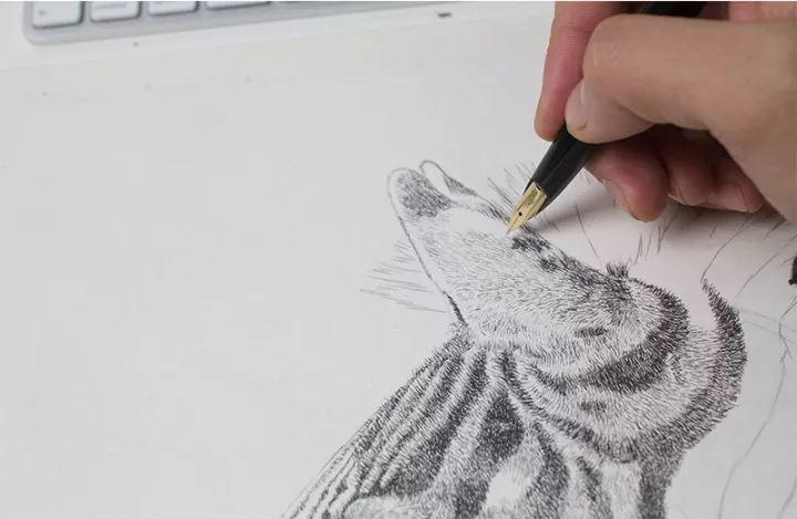90后男孩的极品钢笔画,细腻的让人窒息插图140