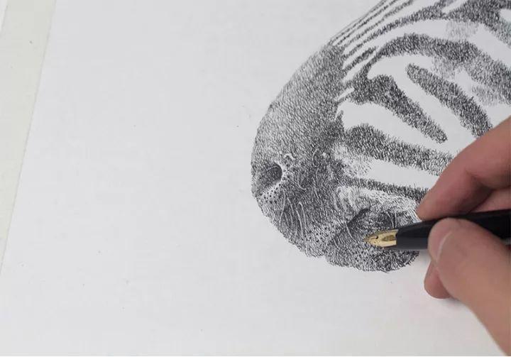 90后男孩的极品钢笔画,细腻的让人窒息插图144