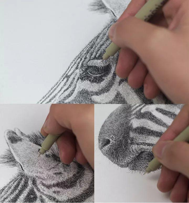 90后男孩的极品钢笔画,细腻的让人窒息插图152