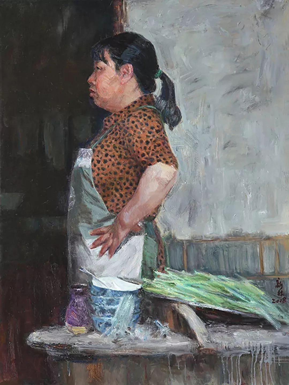 2018中国写意油画学派年展作品集插图15