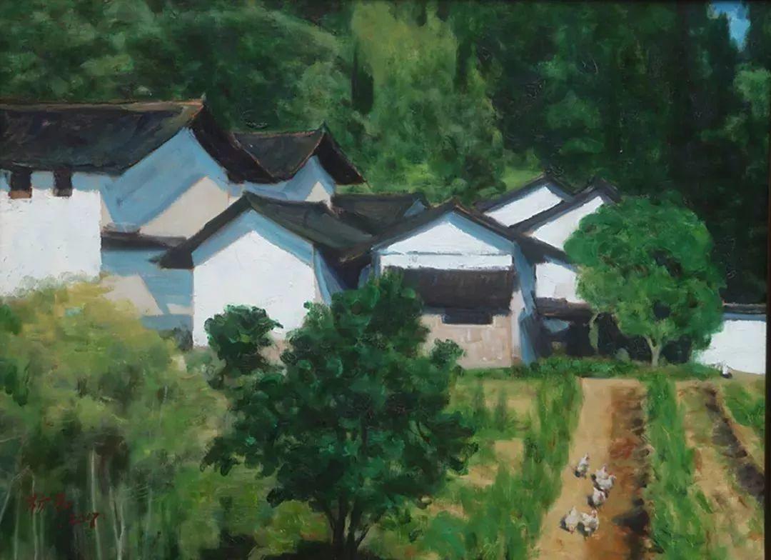 2018中国写意油画学派年展作品集插图17