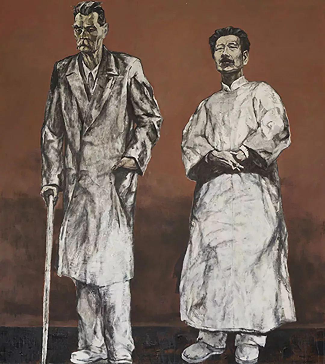 2018中国写意油画学派年展作品集插图21