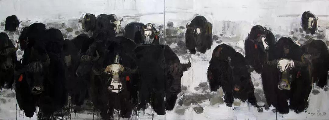 2018中国写意油画学派年展作品集插图79