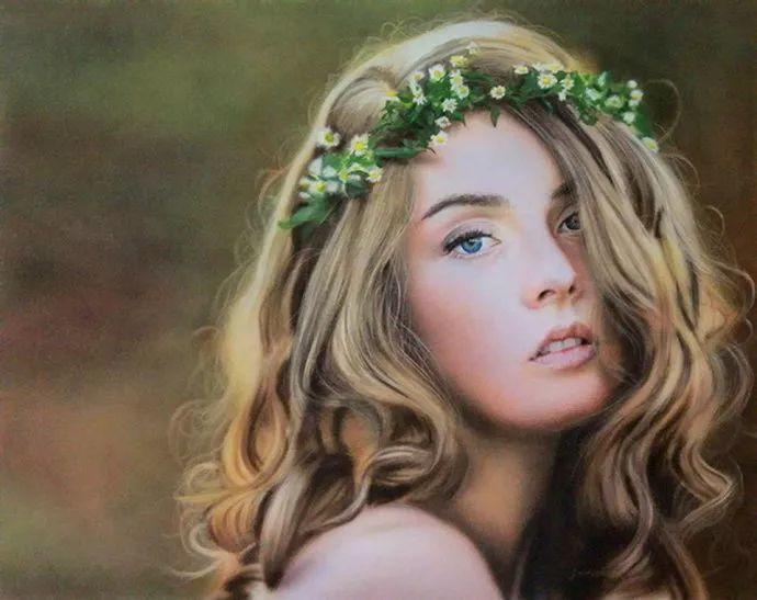 他自学油画,喜欢超现实,是位业余艺术家插图16