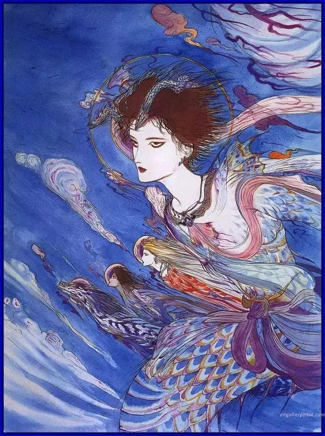 这位日本大叔画了50年的女人插图17
