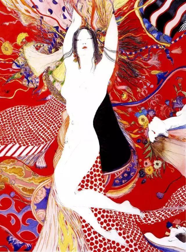 这位日本大叔画了50年的女人插图33