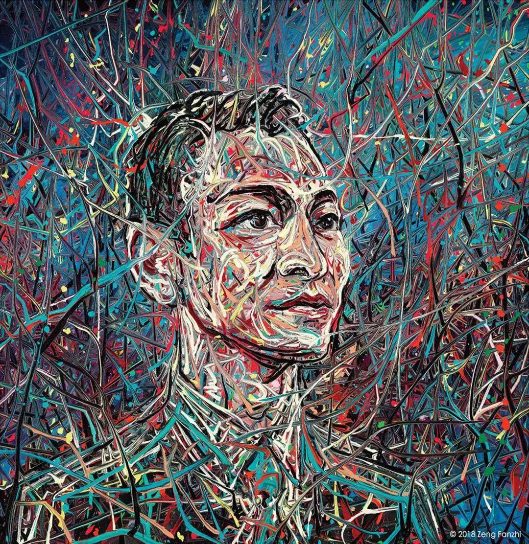 """中国当代第一突破亿元的艺术家,为什么他这么""""贵""""?插图7"""