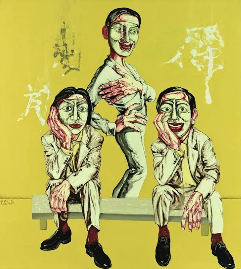 """中国当代第一突破亿元的艺术家,为什么他这么""""贵""""?插图19"""