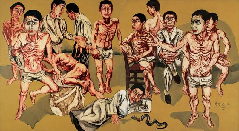 """中国当代第一突破亿元的艺术家,为什么他这么""""贵""""?插图45"""