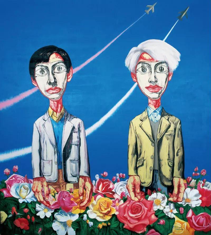 """中国当代第一突破亿元的艺术家,为什么他这么""""贵""""?插图47"""