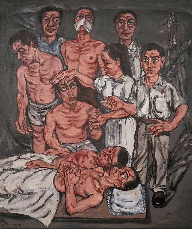 """中国当代第一突破亿元的艺术家,为什么他这么""""贵""""?插图69"""