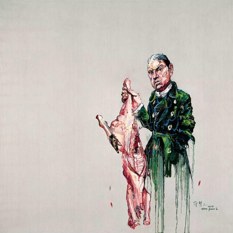 """中国当代第一突破亿元的艺术家,为什么他这么""""贵""""?插图87"""