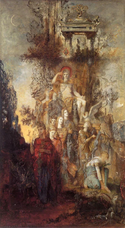No.47 古斯塔夫·莫罗——法国象征主义画家插图36