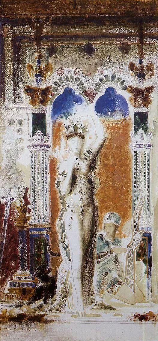 No.47 古斯塔夫·莫罗——法国象征主义画家插图57
