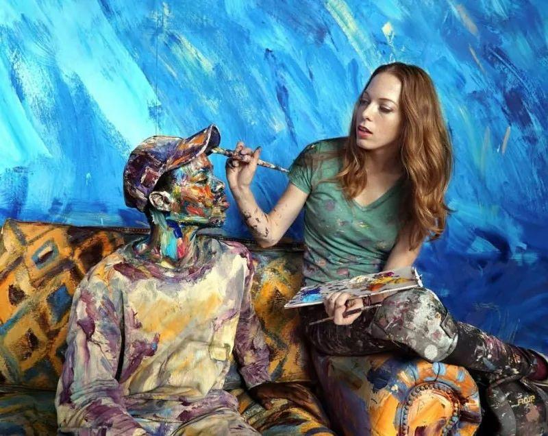 如此惊艳的艺术形式,这几位艺术家绝对超乎你的想象插图25