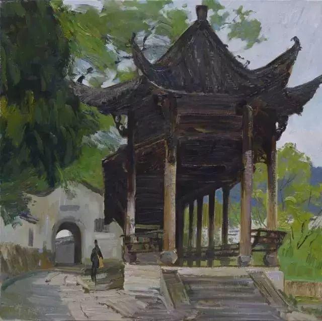 中国油画 40多位名家风景写生插图4