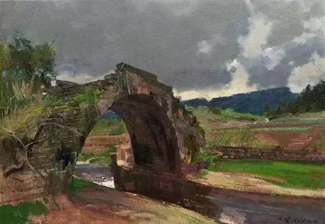 中国油画 40多位名家风景写生插图6