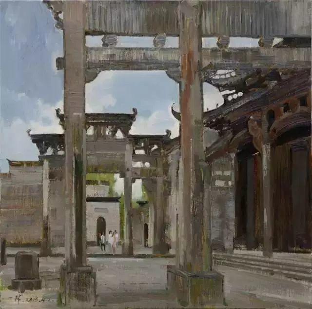 中国油画 40多位名家风景写生插图9