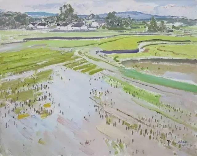 中国油画 40多位名家风景写生插图13