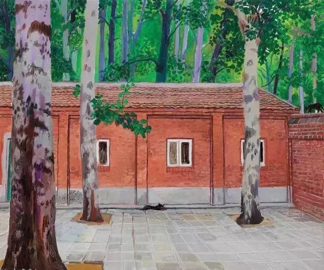 中国油画 40多位名家风景写生插图21