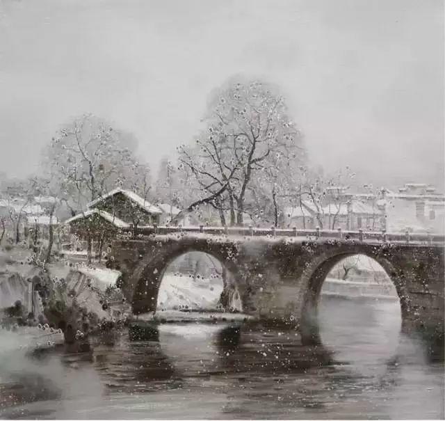 中国油画 40多位名家风景写生插图23